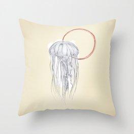 Jellyfish, Jelly Fish Throw Pillow