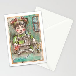 work... Stationery Cards