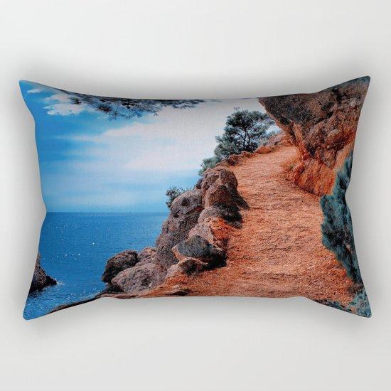 Way To The Top Rectangular Pillow