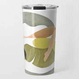 Banana palm Travel Mug