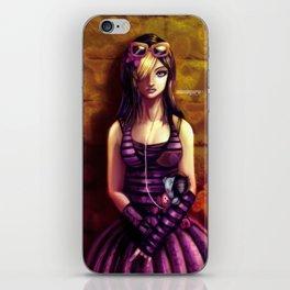 Emo girl iPhone Skin