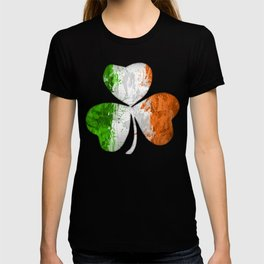 Irish Tricolour Shamrock T-shirt