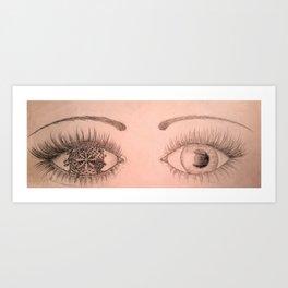 One Eye Art Print