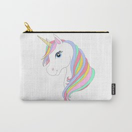 Unicorn cartoon Carry-All Pouch