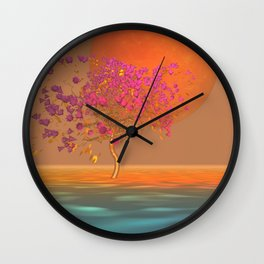 peaceful time -15- Wall Clock