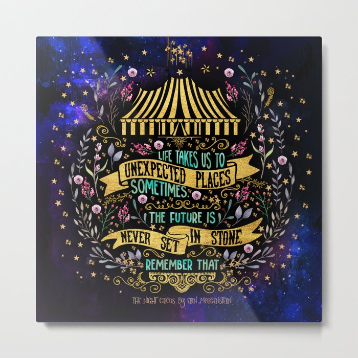 The Night Circus- Unexpected Places Metal Print
