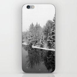 Winter River iPhone Skin