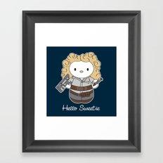 Hello Sweetie Framed Art Print