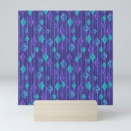 Scandinavian Frozen Crystals Mini Art Print