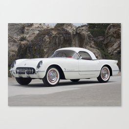 1955 Corvette Canvas Print