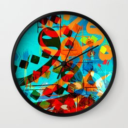 arabic lins Wall Clock