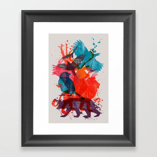 It's A Wild Thing Framed Art Print