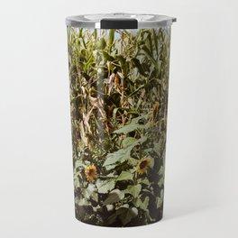 Sunflower Corn Travel Mug