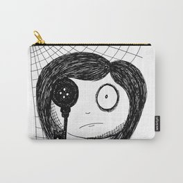 Mirrors are Never to Be Trusted Carry-All Pouch