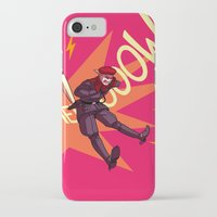 metal gear solid iPhone & iPod Cases featuring Metal Gear Solid - Cat Call by feriowind