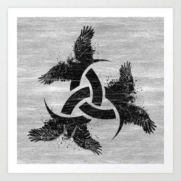 Horn of Odin Art Print