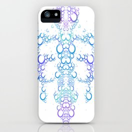 Ink Blot (Light) iPhone Case
