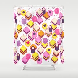 I Love All Sorts Shower Curtain