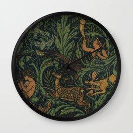 Jagtapete Wallpaper Design Wall Clock