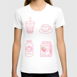 pink drinks T-shirt