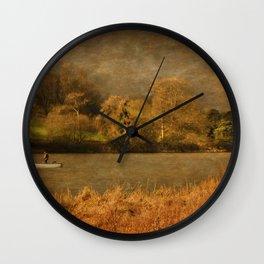 Thornton Reservoir, Leicestershire Wall Clock
