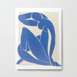 Blue Nude #2 by Henri Matisse Metal Print