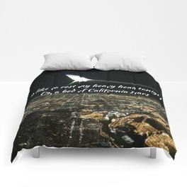 California Stars Comforters