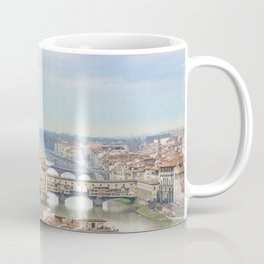 Aerial View Historic Center of Florence, Italy Coffee Mug