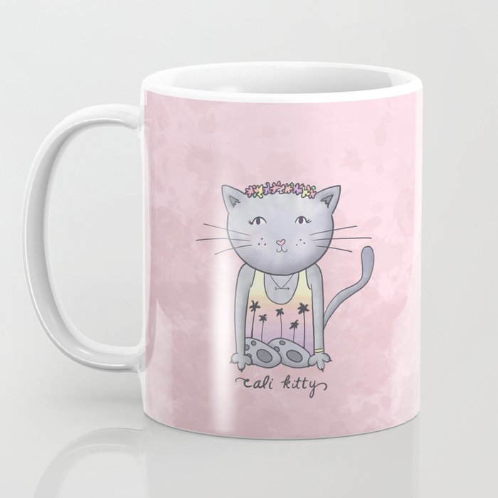 Cali Kitty Coffee Mug