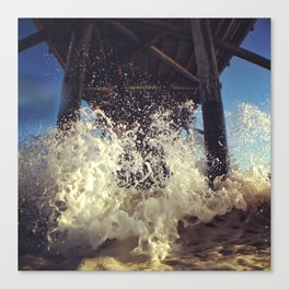 Newport  Splash Canvas Print
