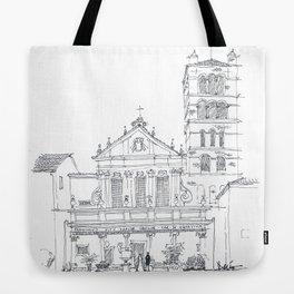 Basilica di Santa Cecilia in Trastevere Tote Bag