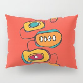 Scribbles 03 in Color Pillow Sham