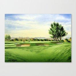 Carnoustie Golf Course Scotland 13th Green Canvas Print