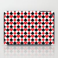 suits iPad Cases featuring French Suits by Jennifer Agu