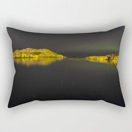 Northern Lights Rectangular Pillow