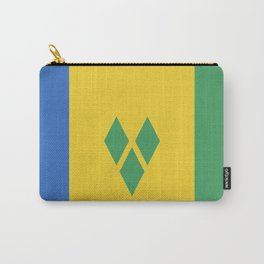 Saint Vincent and the Grenadines flag emblem Carry-All Pouch