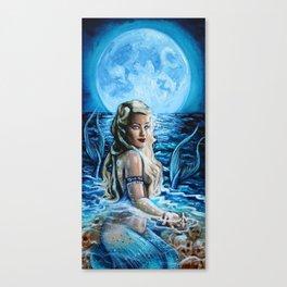 La Sirene Canvas Print