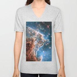 Monkey Head Nebula Unisex V-Neck