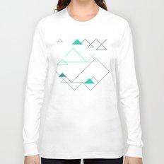 Tree Angle Green Long Sleeve T-shirt