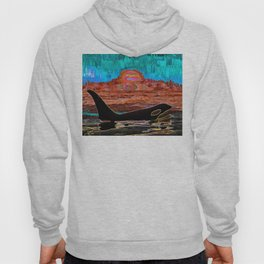 Orca Sunset Hoody