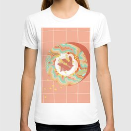 Marble Plate Pink T-shirt