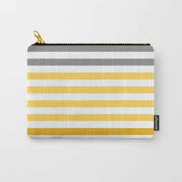 Stripes Gradient - Yellow Carry-All Pouch