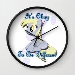 It's Okay Derpy Wall Clock