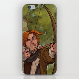 A Day at the Festival - Caleb iPhone Skin