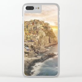 Manarola dream Clear iPhone Case