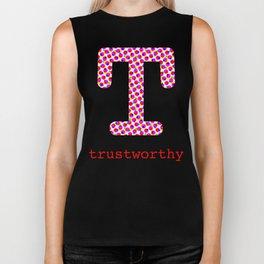 #T [trustworthy] Biker Tank