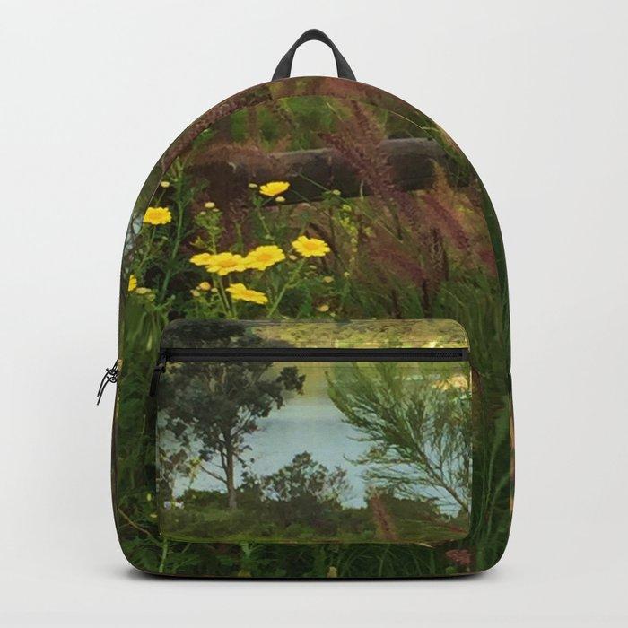 Lake Murray, La Mesa, California Backpack