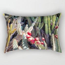 Overgrown Cactus Garden Rectangular Pillow