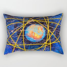 Earth Power Rectangular Pillow