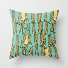 Birds Tails Throw Pillow